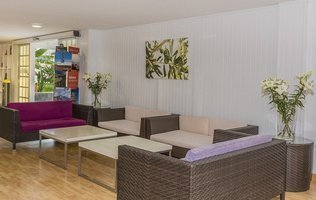 Recepcion Hotel Coral Compostela Beach